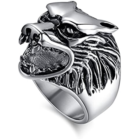 Acciaio INOX Fashion Jewelry-Anello da uomo