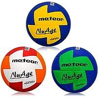 meteor® Nuage Handball Größe fur Kinder 0 Jugend 1 und Damen 2 ideal auf die Kinderhände von 4 Jährigen abgestimmt idealer Handbälle für Ausbildung weicher handballen mit griffiger Oberfläche