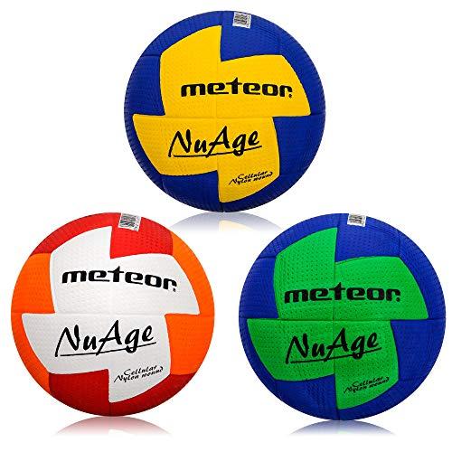Pelota de balonmano Nuage 3 tamaños Niños Juventud Mujeres (#0, Azul Verde)