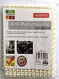 JEDERMANN 2X Universal-Antirutschmatte 40 x 60 cm | Teppichunterlage | Teppichstop