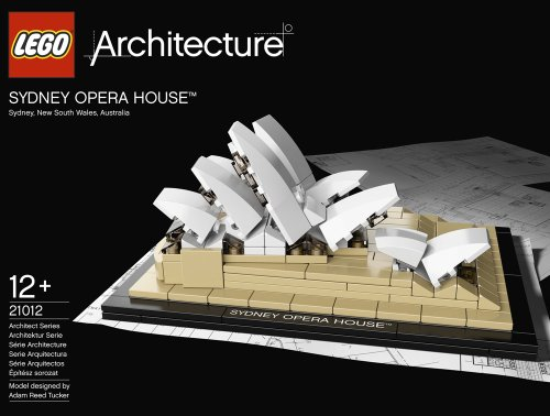 Imagen 1 de LEGO Architecture 21012 - La Ópera de Sydney