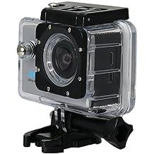 "Star DV8000AC-S - Cámara deportiva de 16 MP (pantalla de 2"", 1080p, 4K / 30 fps, WiFi) color plata"