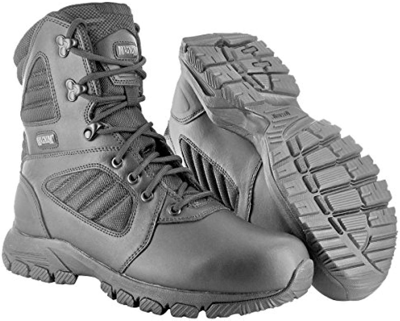 HI TEC   Magnum Lynx 8.0 Black Schuhe Herren Boots Ranger Security Polizei Paintball Neu Größe 42 (UK 8)