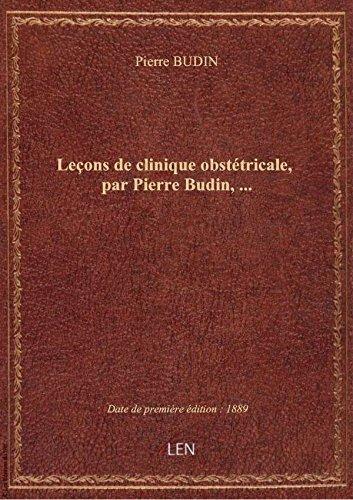 Leons decliniqueobsttricale, parPierreBudin,
