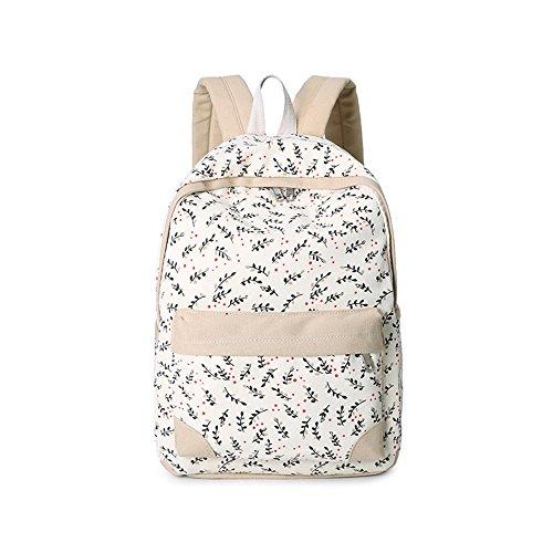 Sacchetto di tela di canapa / sacchetto di spalla del allievo della scuola media / versione coreana femminile dell'onda del Giappone e del Sud Corea zaino del calcolatore / ( Colore : Verde ) Khaki