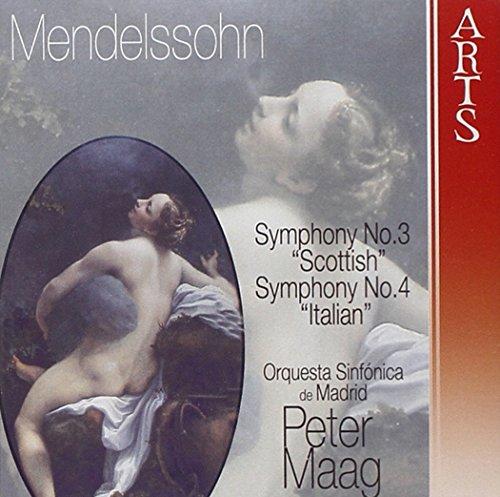 MENDELSSOHN - Symphonies no.3, 4