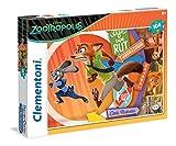 Clementoni 27968 - Puzzle Zootropolis, 104 Pezzi