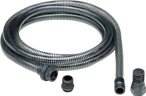 AL-KO Saugschlauch 3/4 Zoll, 4 m Länge, für Gartenpumpen und Hauswasserwerke, mit Rückschlagventil
