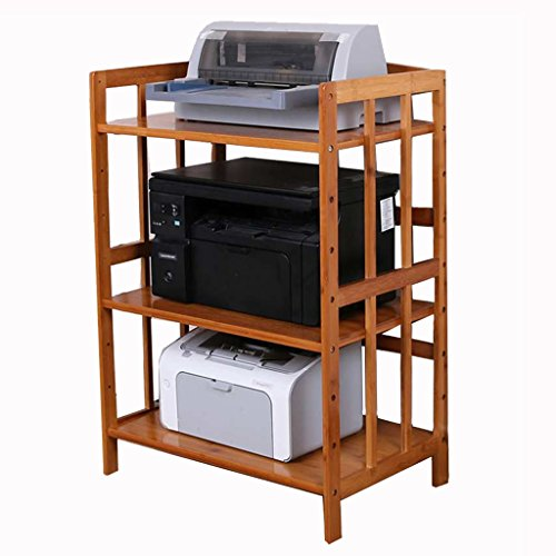 Ofen-gestell (3 Tier-Küche-Speicher-Regal-Organisator-festes Holz-Mikrowellen-Ofen-Gestell-Lager-Bäcker-Gestell, Büro-Kopierer-Drucker-Regale (Color : 50CM*38CM*82CM))