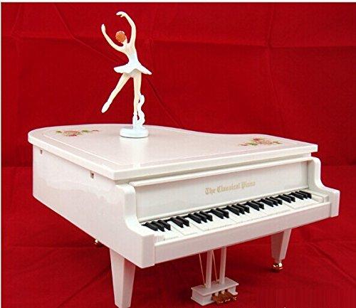 GDS Temperamento di pianoforte danza ragazze Rotary music box, i carillon di San Valentino i (Ragazze Music Box)