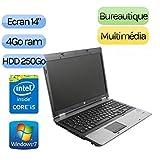 HP ProBook 6450b - Windows 7 - i5-520M 4GB 250GB - 14 - Ordinateur Portable PC