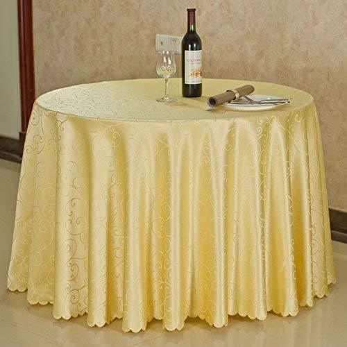HTL Tisch Tischdecken, Tischdecken für Zuhause, runder Tisch Quadratische Tischdecken, Tischdecken Rechteckige/runde Hotel-Tischdecke Europäische Tischdecke/Konferenztischdecke/Kaffee With2 Col