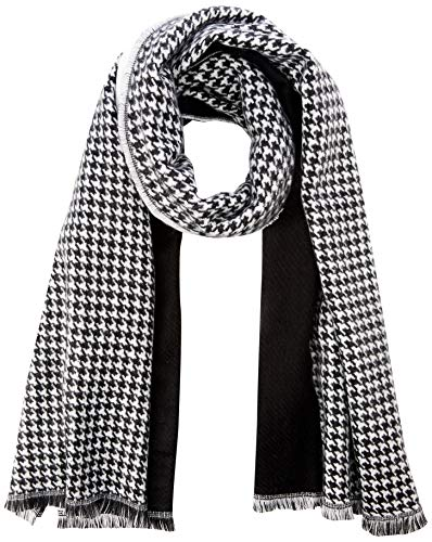 PIECES Damen Schal PCKIT Long Scarf, Weiß (Bright White), One Size