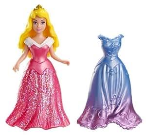 Disney Princess, Little Kingdom, MagiClip, Sleeping Beauty Aurora with 2 Dresses by Mattel