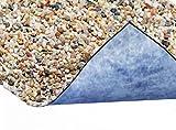 Steinfolie 60cm breit für Teichrand und Bachlauf