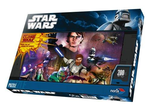 Noris 606036964 - Star Wars Puzzle, 200 Teile (Wars Spielzeug Clone Star)