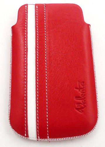 Valenta EM59513 Funda de protección Rojo, Blanco funda para teléfono móvil - Fundas para teléfonos móviles (Funda de protección, Alcatel, Ot-282, Rojo, Blanco)