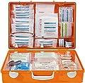 Söhngen 3001155 Erste-Hilfe-Koffer MT-CD, DIN 13169, B 40 x H 30 x T 15 cm, orange