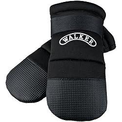 64d3e9f031b Trixie - Botas para andar de protección para perro (Mediana (M)/Negro