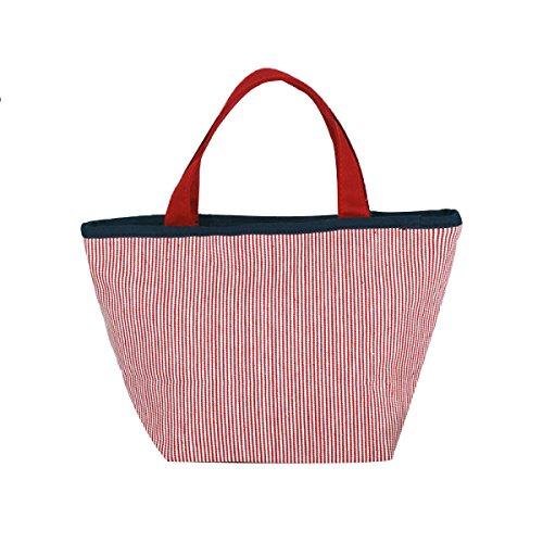 Neue Segeltuch-Handtaschen-große Kapazitäts-Satz-Karikatur-Bären-gestreifte Handtasche,BlueStripes BlueStripes
