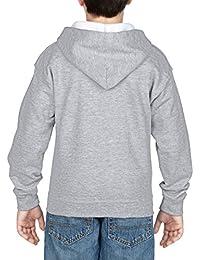 Gildan Sweat à capuche zippé pour enfant