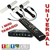 Sintonizador de TDT MPG4 de DOBLE DIVERSIDAD + Reproductor de música y vídeos por USB.