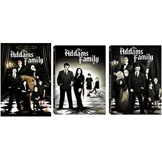 Die Addams Family - Staffel /Season 1 + 2 + 3 Collection Set - 9 DVDs ganze Serie