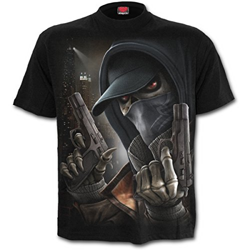 Spiral Street Reaper T-Shirt schwarz Schwarz