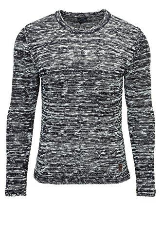 Carisma Herren Strickpullover Pulli Sweater Pullover Navy