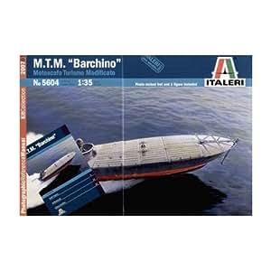 Italeri - I5604 - Maquette - Bateau - MTM Barchino - Echelle 1:35
