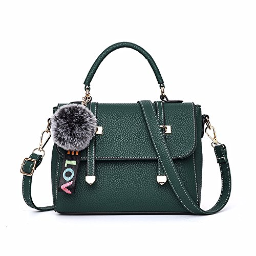 GUANGMING77 _ Borsetta Crossbody Bag Borsetta,Singolo Nero Con Spallamento Guan Fang single shoulder army green