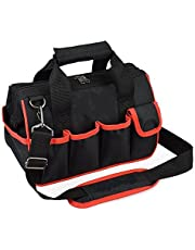 Pahal Nylon Tool Bag (Black, 16 inch)
