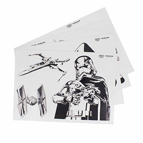 Star Wars Gadget Aufkleber Wiederverwendbar Wasserdicht Aufkleber, Vinyl, Mehrfarbig, 1x 15x 21cm Falcon-serie-handys