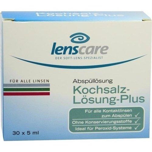Lenscare Kochsalzlösung P 30X5 ml