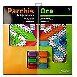 Fournier - Tablero Parchís/Oca y fichas, 40 x 40 cm, para 6 jugadores...