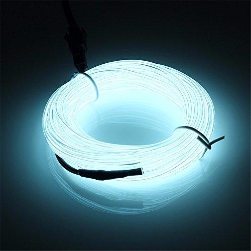 5M EL Wire,SOLMORE EL Kabel Neon Leuchtschnur Beleuchtung für Weihnachten Christmas Partys Halloween Kostüm Display (Kabel Kostüme)