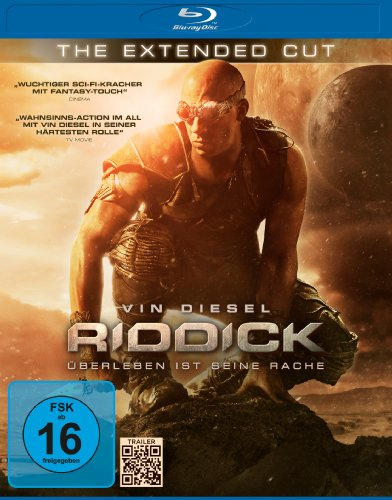 Riddick (the Extended Cut) Bd [Blu-ray] [Import anglais]