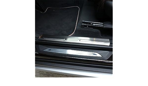 /2018/auto accessori ricambi 4pcs interno in acciaio INOX battitacco Batticalcagno soglia banda per X1/F48/2016/