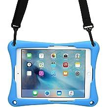 10 - 10.5'' Tablet funda, COOPER TROOPER 2K funda protectora robusta de gran resistencia con asa para colgar del hombro y soporte incorporado para 10 - 10.5'' pulgadas tablet (Azul)