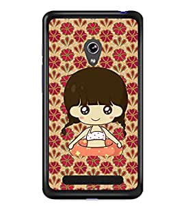 Fuson 2D Printed Girly Designer back case cover for Asus Zenfone 5 - D4323