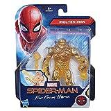 Hasbro Marvel Spider-Man- Figurine Spiderman 15cm, E3549EU4, Multicolore