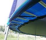 Universal Federabdeckung 360 – 366 12 FT für Trampolin Randabdeckung Randschutz Abdeckung PVC zweiseitig – UV beständig - 4