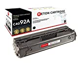Original Reton Toner, kompatibel, Schwarz für HP 3201, HP LaserJet, 1100, 1100A, 1100SE, 1100ASE, 1100AXI, 1100XI, 3200, 3200SE, 3200M, 1100SI (C4092A), Schwarz 2500 Seiten
