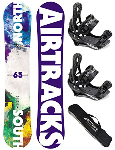 airtracks-snowboard-set-board-north-south-159-softbindung-savage-l-sb-bag