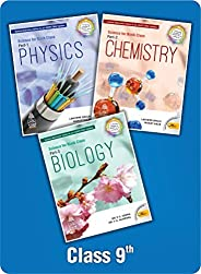 Combo Pack: Lakhmir Singh Class 9 Science (Biology, Physics, Chemistry) with Free Virtual Reality Gear (2021-2