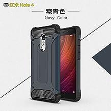 xiaomi redmi Note 4 Funda,3 y 1 armadura TPU+PC Carcasa Case Funda para xiaomi redmi Note 4(marina de guerra)