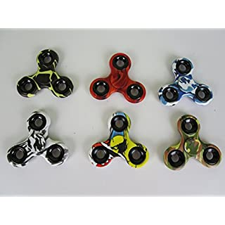 TT Finger Kreisel Crazy Farben 6-er Set- Preis Gilt für alle 6 Kreisel !!