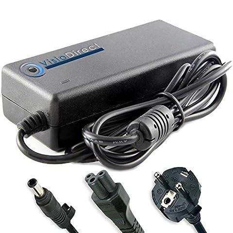 Alimentation pour ordinateur portable SAMSUNG NP350E7C-S0AFR Adaptateur Chargeur - Visiodirect -