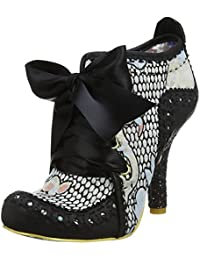 #Irregular Choice Abigail's Third Party Negro Pale Azul Mejeres Botas