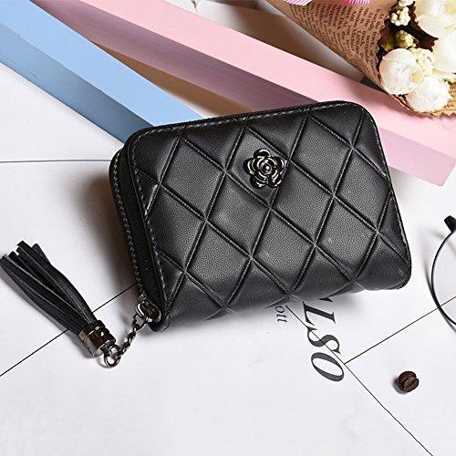 Faysting EU donna portafoglio donna borsellino multi colori rete elegante stile buon regalo A